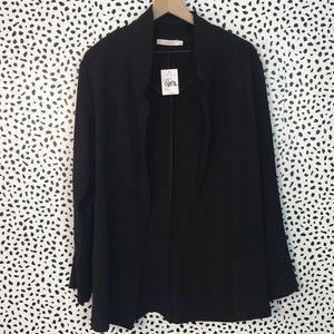 Lush Nwt oversized black blazer size large